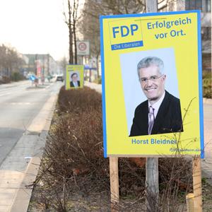 Plakate zur Kommunalwahl 2011